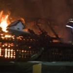 Un bărbat din Bistra a dat foc la casă după o ceartă cu soția