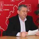 Tema schimbării stemei judeţului Alba a fost reluată din nou ieri în conferința de presă a deputatului PSD Ioan Dârzu
