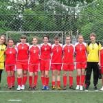 """Echipa Colegiului """"Avram Iancu"""" din Câmpeni este noua vicecampioană naţională la ONSS, fotbal feminin"""