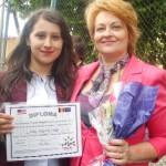 """La Colegiul Naţional """"Avram Iancu"""" Câmpeni, premiul """"Viorica Drăgoiu"""" a fost decernat al optulea an consecutiv"""