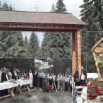 Poartă şi troiţă sfinţite de ÎPS Irineu la Ursoaia – Mătişeşti, comuna Horea