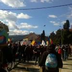 Mii de moți participă la Câmpeni la un nou miting de protest împotriva exploatării cu cianuri de la Roșia Montană