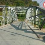 Pod modernizat la intrarea în Baia de Arieş