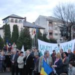 Noi proteste au avut loc astăzi la Câmpeni și Bistra împotriva proiectului minier de la Roșia Montană