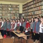 Activități cultural-educative ale elevilor din Câmpeni  dedicate zilei de 1 Decembrie