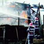 Pagube de 3.000 de lei în urma unui incendiu izbucnit la o gospodărie din Albac