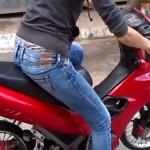 O adolescentă de 17 ani din județul Bihor depistată conducând o motocicletă la Arieșeni fără a poseda permis