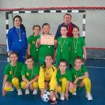 Micile fotbaliste ale Şcolii Gimnaziale Câmpeni au câştigat etapa interjudeţeană a ONSS de la Aiud şi vor participa la finala naţională