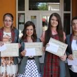 "4 eleve din Câmpeni care au terminat cu 10 pe linie au primit premiul ""Gheorghe Drăgoiu"""
