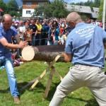 Întreceri de măiestrie între cioplitori, ţapinari şi căţărători, paradă şi spectacol folcloric la Târgul Lemnarilor 2014