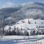 Stațiunea Arieșeni a făcut cunoștință astăzi cu prima ninsoare din această iarnă