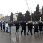Moții au dansat Hora Unirii la Câmpeni cu ocazia împlinirii a 156 de ani de la Unirea Principatelor Române