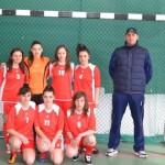 """Echipa de fete a Colegiului Naţional """"Avram Iancu"""" Câmpeni – campioană judeţeană la fotbal pentru al treilea an consecutiv"""