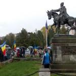 Moții au aniversat 2 ani de la Marea Adunare de la Câmpeni împotriva proiectului minier de la Roșia Montană