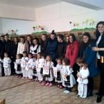 1 Decembrie sărbătorit româneşte de preșcolarii de la Grădinița Piticot din Câmpeni