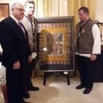 Cei 15.000 de euro oferiți la licitație de moții din Horea nu au fost suficienți pentru adjudecarea drapelului de luptă al lui Avram Iancu