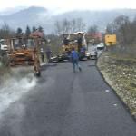 Cea mai mare investiţie din comuna Bistra, asfaltarea DC 97 Bistra – Poiană