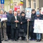 """Peste 500 de locuitori din Câmpeni au participat astăzi, după Sfânta Liturghie, la """"Marșul pentru viață"""""""