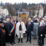 """""""Lecție de istorie"""" oferită de primarul Ioan Călin Andreș la ceremonia de prezentare a drapelului de luptă al uneia dintre legiunile lui Avram Iancu, de la Câmpeni"""