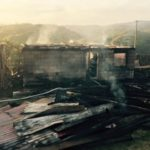 Un imobil din Gîrda de Sus a fost distrus în totalitate de un incendiu provocat de un coș de fum deteriorat