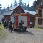 Exercițiu de cooperare între ISU Alba si ISU Bihor, la Arieșeni