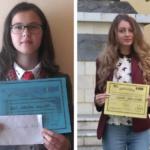 """Performanţa şcolară, răsplătită cu premii şi diplome: Premiile """"Viorica Drăgoiu"""" şi """"Gheorghe Drăgoiu"""" acordate elevilor de la Colegiul Naţional """"Avram Iancu"""" şi Şcoala Gimnazială Câmpeni"""