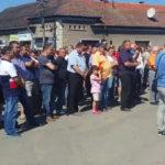 Starea deplorabilă în care se află DN 76, Oradea – Deva, a scos lumea în stradă la Beiuș