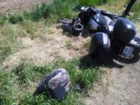 Femeie rănită, după ce a intrat cu motocicleta într-un parapet pe DN 75, în Baia de Arieș