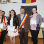 """Elevii Şcolii Gimnaziale """"Nicodim Ganea"""" din Bistra şi-au ales un """"Primar pentru o zi"""""""