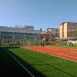 """Teren de sport nou la Colegiul Naţional """"Avram Iancu"""" Câmpeni"""
