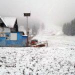 A căzut prima zăpadă din acest sezon în staținunea montană Arieșeni