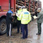 Poliţiştii din Câmpeni au confiscat 6,72 metri cubi de material lemnos, în urma unui control efectuat la o autoutilitară