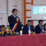 """Dezbatere interactivă la Câmpeni, pentru promovarea Universității ,,1 Decembrie 1918"""" din Alba Iulia în rândul liceenilor din Țara Moților"""