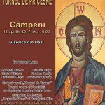 Astăzi, 12 aprilie 2017 – ora 18.00: Concert de pricesne tradiţionale româneşti, la Biserica din Deal, din Câmpeni