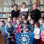 Ziua Europei a fost marcată de preșcolarii din Câmpeni la biblioteca orășenească