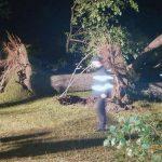 O furtună violentă a DISTRUS un camping plin de turiști la Bulz, în județul Bihor