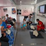 ISU Alba a organizat cursuri pentru acordarea primului ajutor în situații de urgență, la Câmpeni