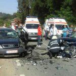 Două persoane au ajuns la spital, după o coliziune între două autoturisme petrecută după giratorul de la intersectia DN 75 cu DN 74A, de lângă Câmpeni