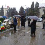 Depuneri de coroane la statuia lui Avram Iancu din Câmpeni, cu prilejul Zilei Naționale a României