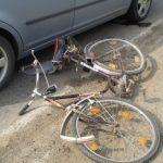 Biciclistă de 18 ani rănită în urma unui accident rutier petrecut pe DN 75, la Câmpeni