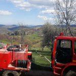 Intervenție a pompierilor militari din Câmpeni pentru stingerea unui incendiu izbucnit la o anexă gospodărească din localitatea Făgetu de Sus