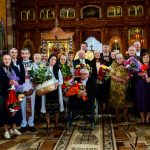 """Cele mai longevive cupluri din Bistra au fost premiate de primarul comunei Traian Gligor, în cadrul celei de-a XI-a ediții a evenimentului """"Nunta de Aur"""""""