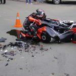 Tânăr de 24 de ani din Poșaga cercetat de polițiști, după ce a condus beat și fără permis o motocicletă neînmatriculată cu care s-a rasturnat de DJ 106H
