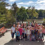 """Copiii ocrotiți în Centrul de Zi """"Sfânta Varvara"""" din Baia de Arieș au beneficiat de o excursie la Sibiu"""